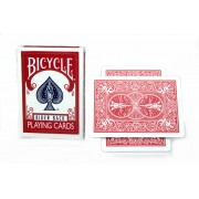 Bicycle Magnetic Rider Back Cards 2-Pack (Red)