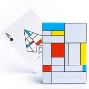Mondrian Playing Cards