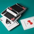 Cherry Casino True Black Playing Cards