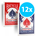 Bicycle rider back 807 12-pack